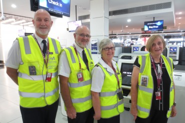 Melbourne Airport Customer Care Program