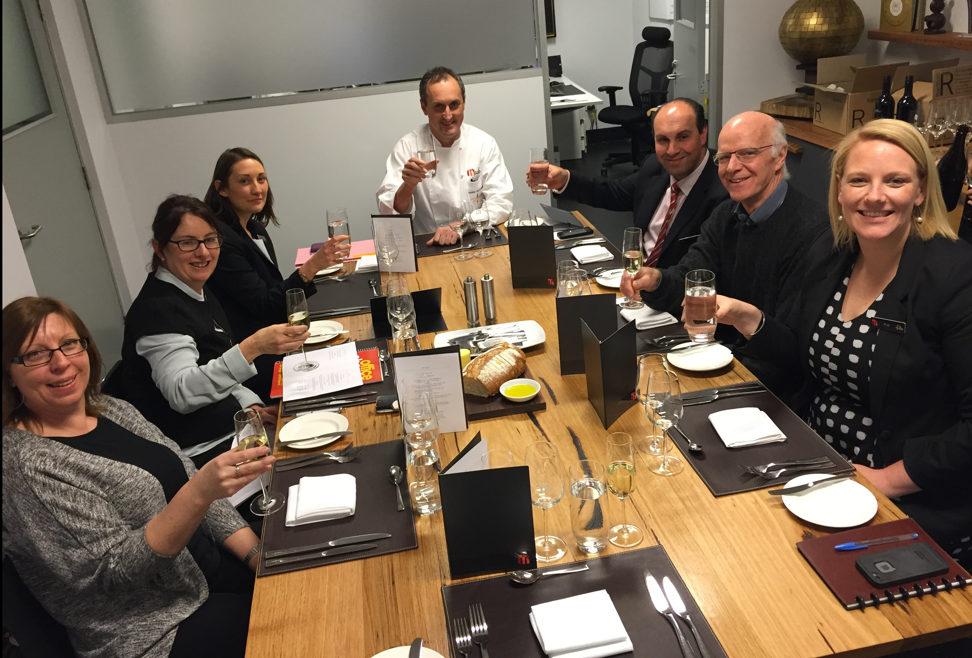 Wine and Food matching at MCEC