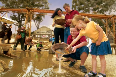 Sovereign Hill Gold Panning
