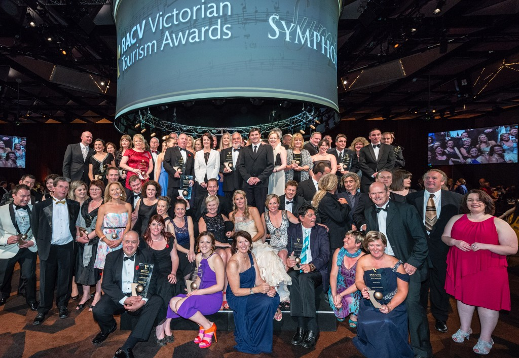 2013 RACV Victorian Tourism Awards Winners on Stage